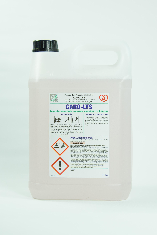 Produit d capant sol professionnel 5 litres for Produit de lustrage professionnel
