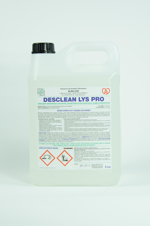Produit d tergent d sinfectant 5 litres for Produit cuisine professionnel